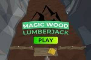 Lumberjack in the Magic Forest