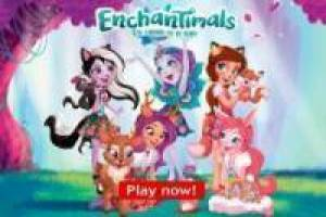 Colorea a las Enchantimals