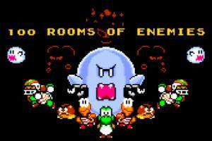Mario 100 Rooms of Enemies