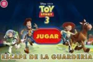 Toy Story 3. Escape de la guardería