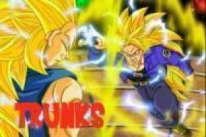 Trunks vs Vegeta SSJ
