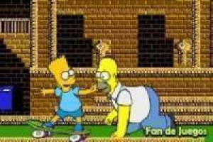 Free Aim with The Simpsons shooter Game