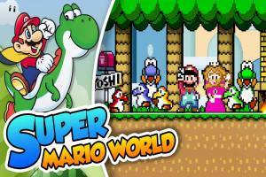 Super Mario World (USA) Mario Return