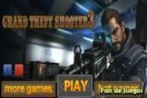 Juego Grand theft shooter 3 Gratis