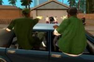 Grand Theft Auto San Andreas disparando: Rompecabezas