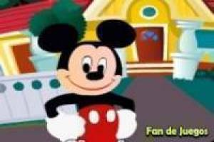 Mickey Mouse: Find the six differences