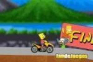 Bart simpson en quad
