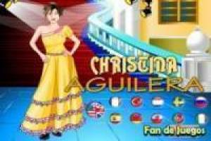 Free Christina Aguilera Dress Up Game