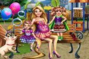 Rapunzel Pregnant: Birthday of her twins
