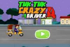 Driving Tuk Tuk: Running Over Zombies