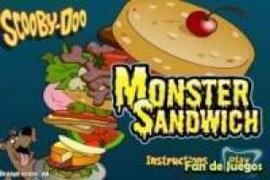 Scooby doo monster sandwich