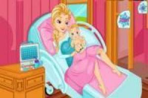 Frozen Elsa birth