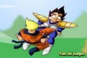 Goku vs Vegeta: Vídeo de humor