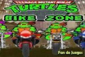 Ninja turtles in motorcycle racing