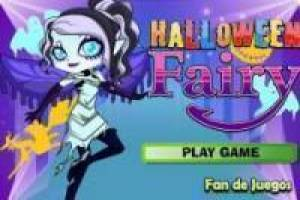 Free Halloween fairy dress Game