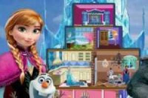 Decorar el castillo de Frozen