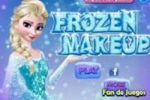 Frozen, maquillage
