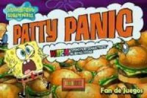 SpongeBob vs Plankton: Patty panic