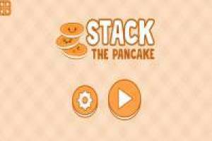Stack the pancakes