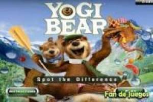 Orso Yogi: Trova le differenze