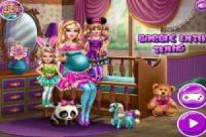 Pregnant Barbie: Play with her Twins