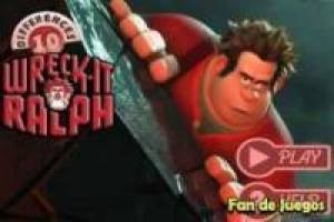 Wreck It Ralph : differences