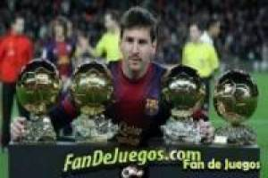 Fourth ball of lionel messi: Puzzles fandejuegos