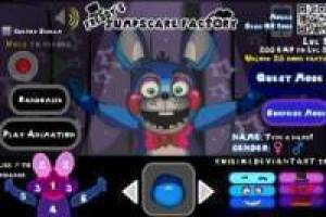 Crear personajes de Five Nights at Freddy's