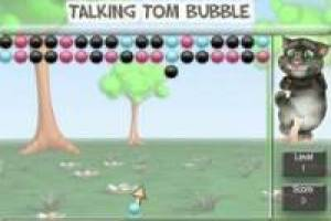 Talking Tom пузыря