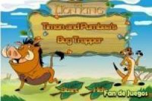 Timon and Pumba connects bugs