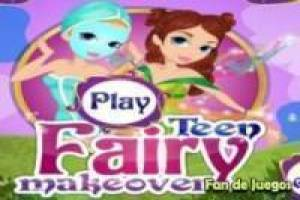 Free Make up a fairy Game