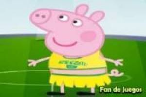 Peppa Pig in de World Cup in Brazilië
