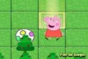 Peppa pig in the enchanted forest
