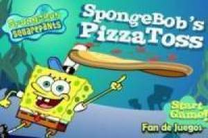 Bob Esponja pizza