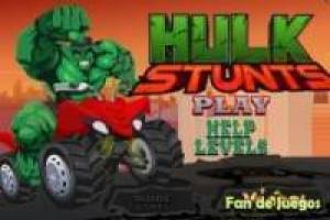 Free Hulk stunts Game