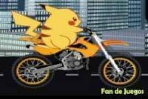 Free Pikachu motorcycle Game