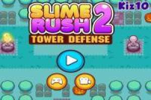 Slime Rush Tower Defense