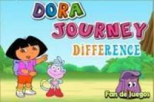 Dora l' esploratore gioca le differenze