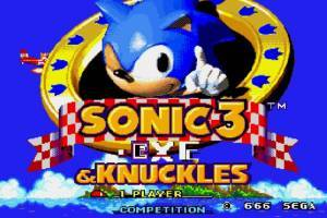 Sonic 3 Exe Edition