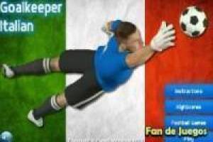 Football: Italian goalkeeper