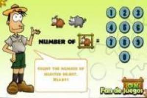Free Accounts and subtraction of animals Game