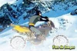 Batman: motos en la nieve