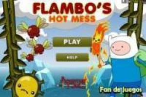 Free Adventure Time: Firefly fire Game