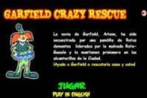 Garfield Crazy Rescue