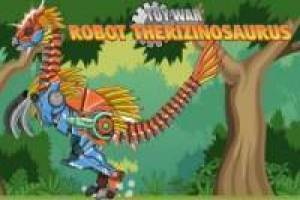 Free Dinosaurs Fights Robots Game