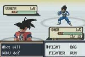 Dragon Ball Z Team Training GBA: Versión Pokémon