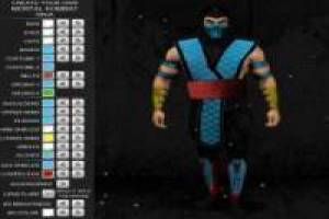 Maak personages uit Mortal Kombat