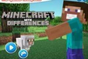 Minecraft con differenze