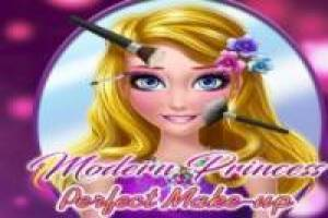 Free Make up modern princesses Game