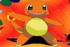 Dressing Pokémon Charmander